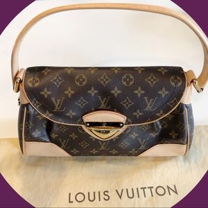 Authentic Louis Vuitton Beverly MM Bag - Like New!